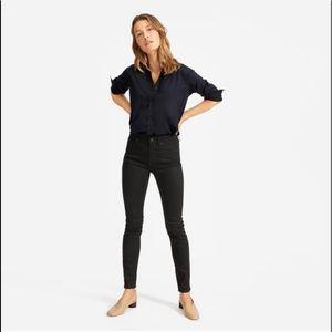 Everlane black skinny jeans size 28